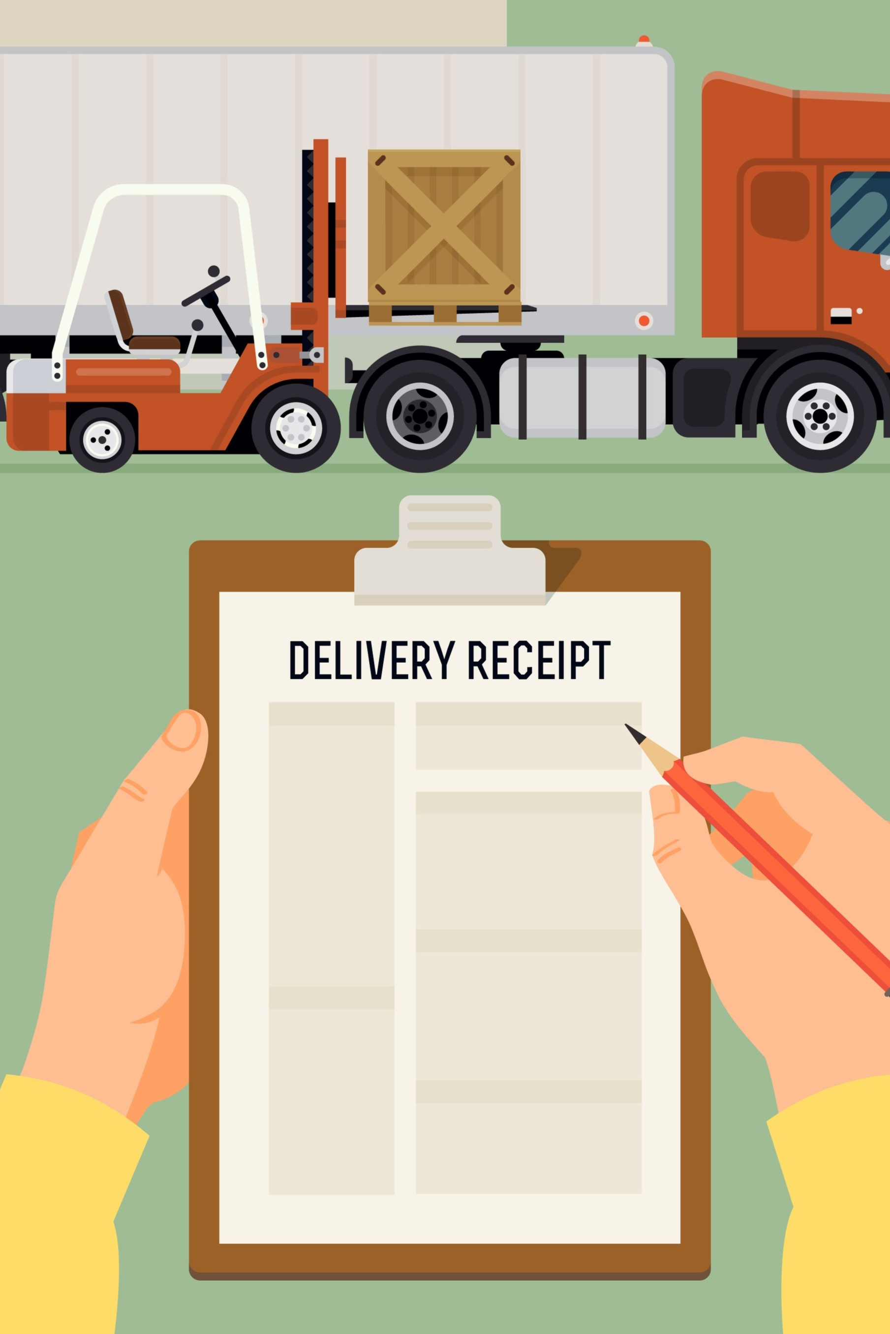 lorry receipts or a lorry receipt copy is the proof of delivery of a consignment or even the proof of possession of the entire goods